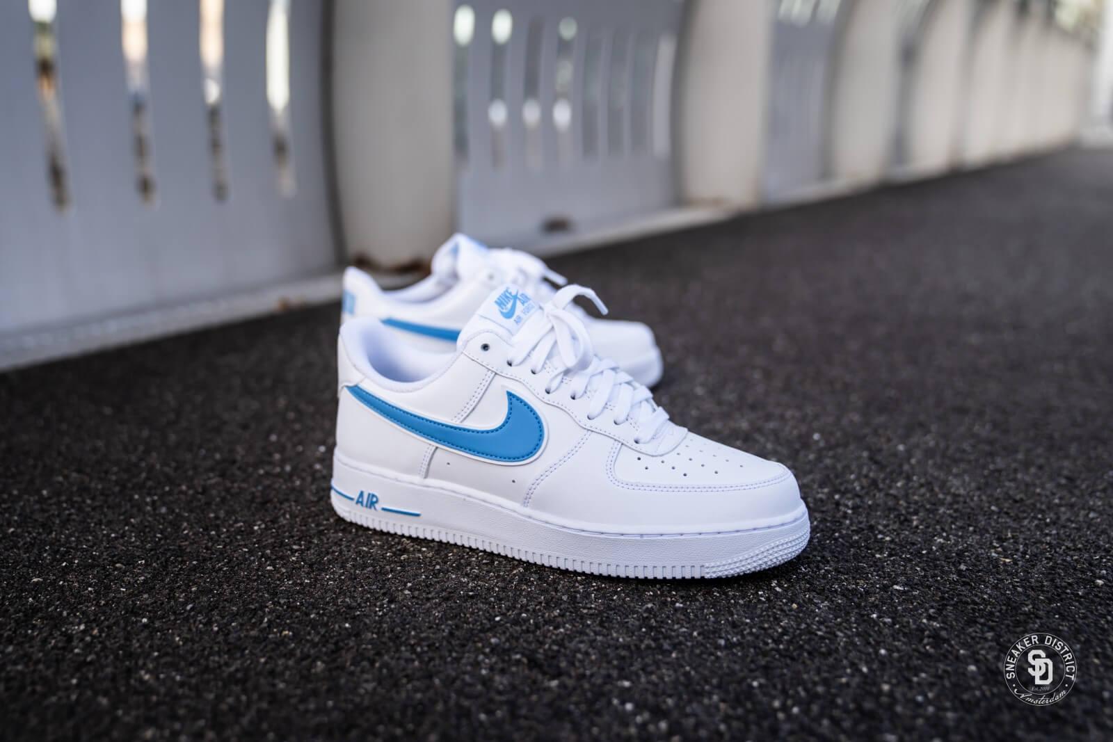 Nike Air Force 1 '07 3 White/University Blue