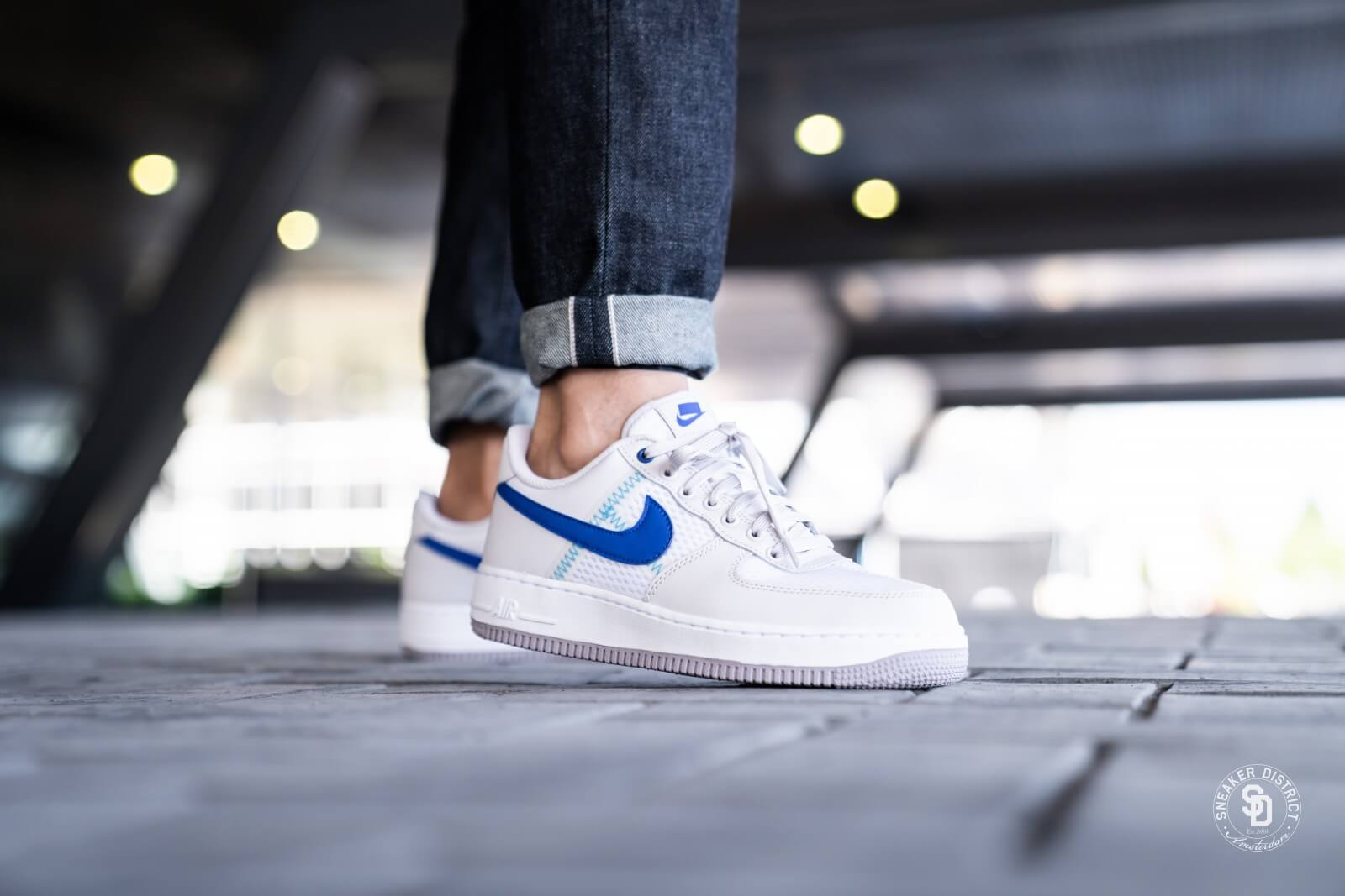 Nike Air Force 1 '07 LV8 1 atmosphere grey racer blue