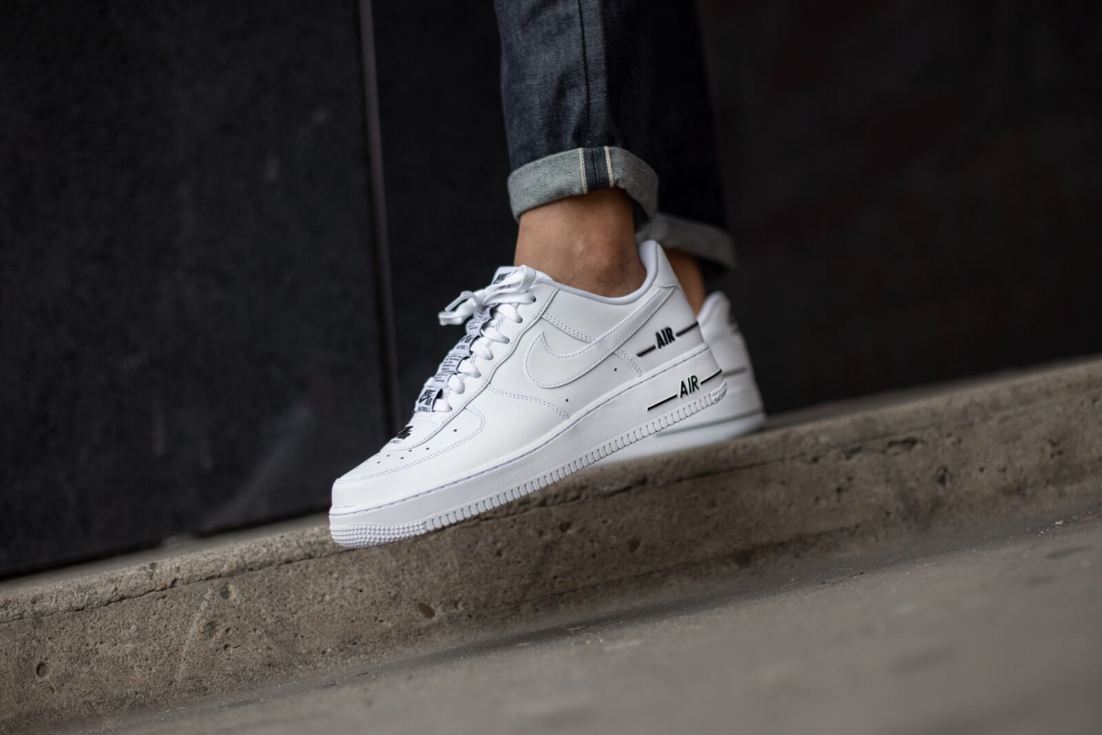Nike Air Force 1 '07 LV8 3 White/White-Black