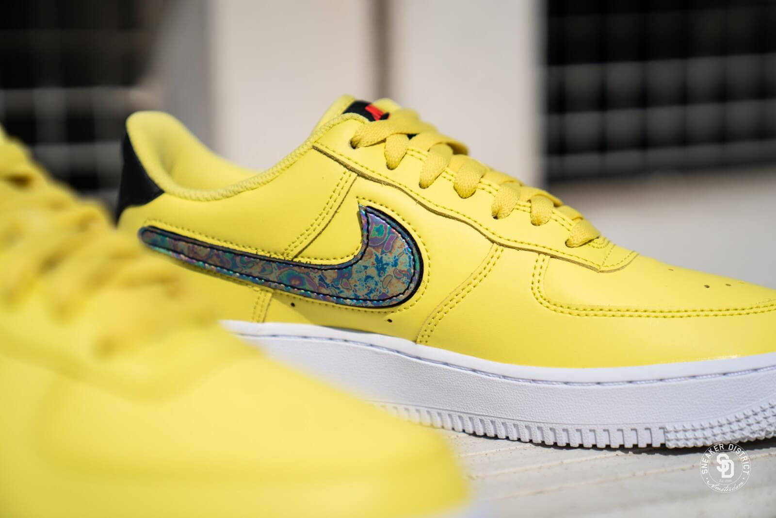 sucesor conjunto Izar  Nike Air Force 1 '07 LV8 3 Yellow Pulse/Black-White - CI0064-700