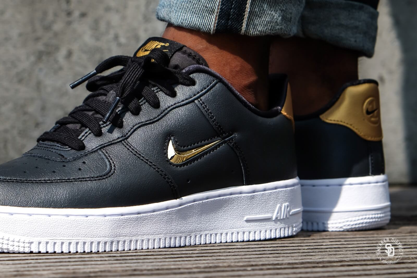 Buy Black And Gold Air Force 1 07 Up To 62 Discounts