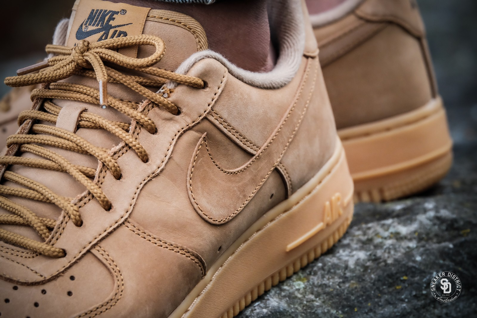 Nike Air Force 1 '07 WB Flax/Gum Light Brown-Outdoor Green