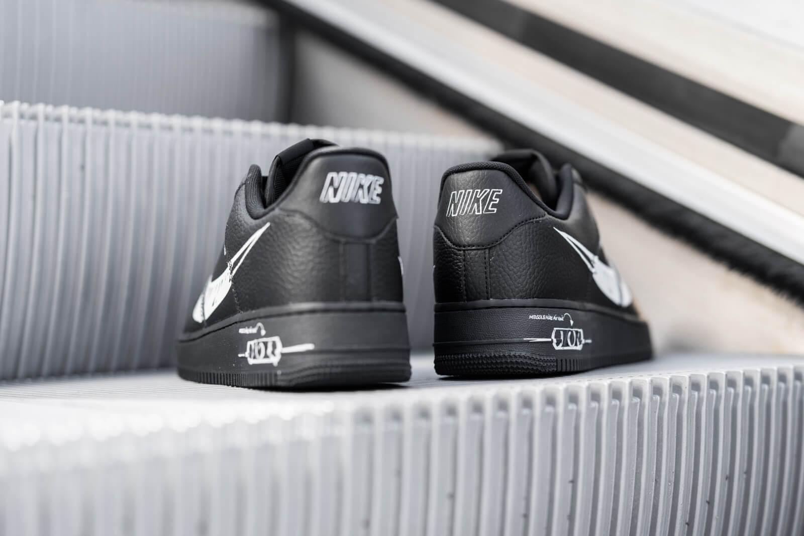 Nike Air Force 1 LV8 Utility Sketch Black/White-Black