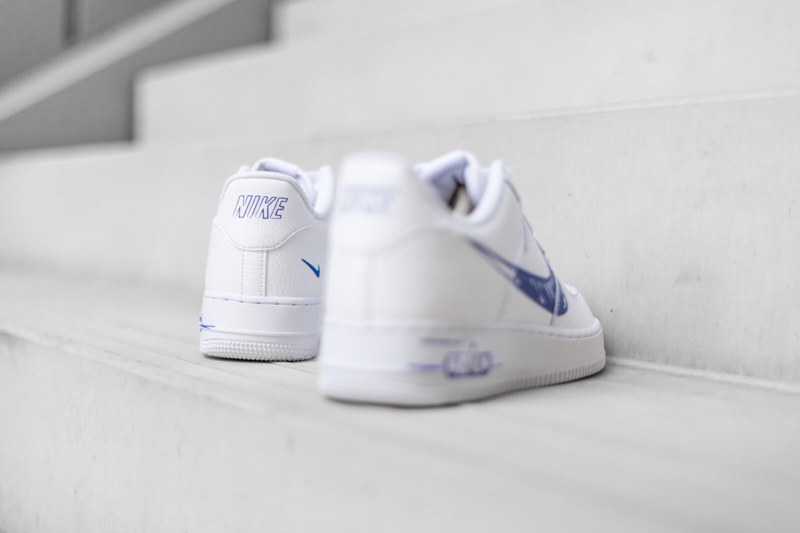 Nike Air Force 1 LV8 Utility Sketch White/Racer Blue
