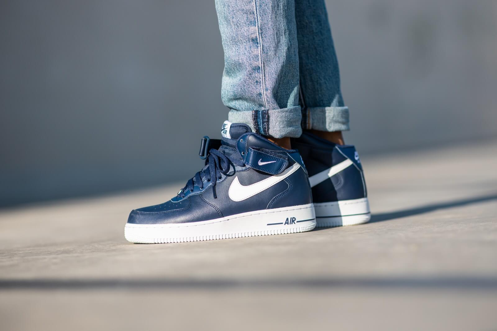 Nike Air Force 1 Mid '07 AN20 Midnight Navy/White
