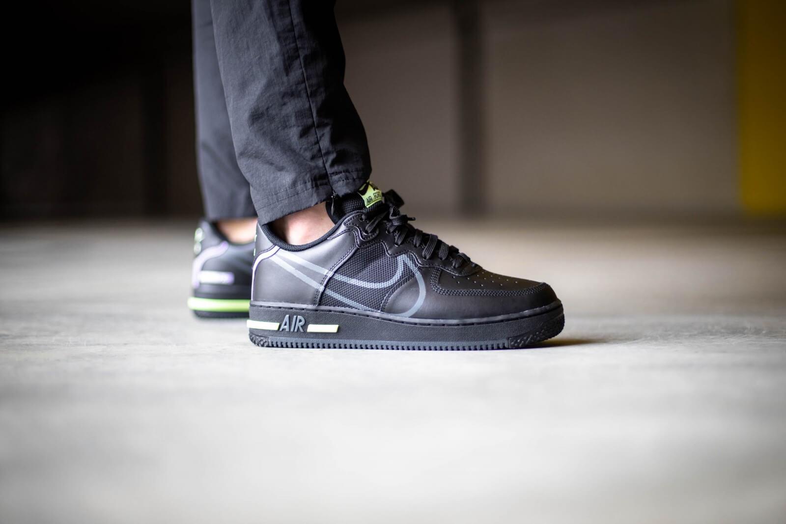 air force 1 react noir