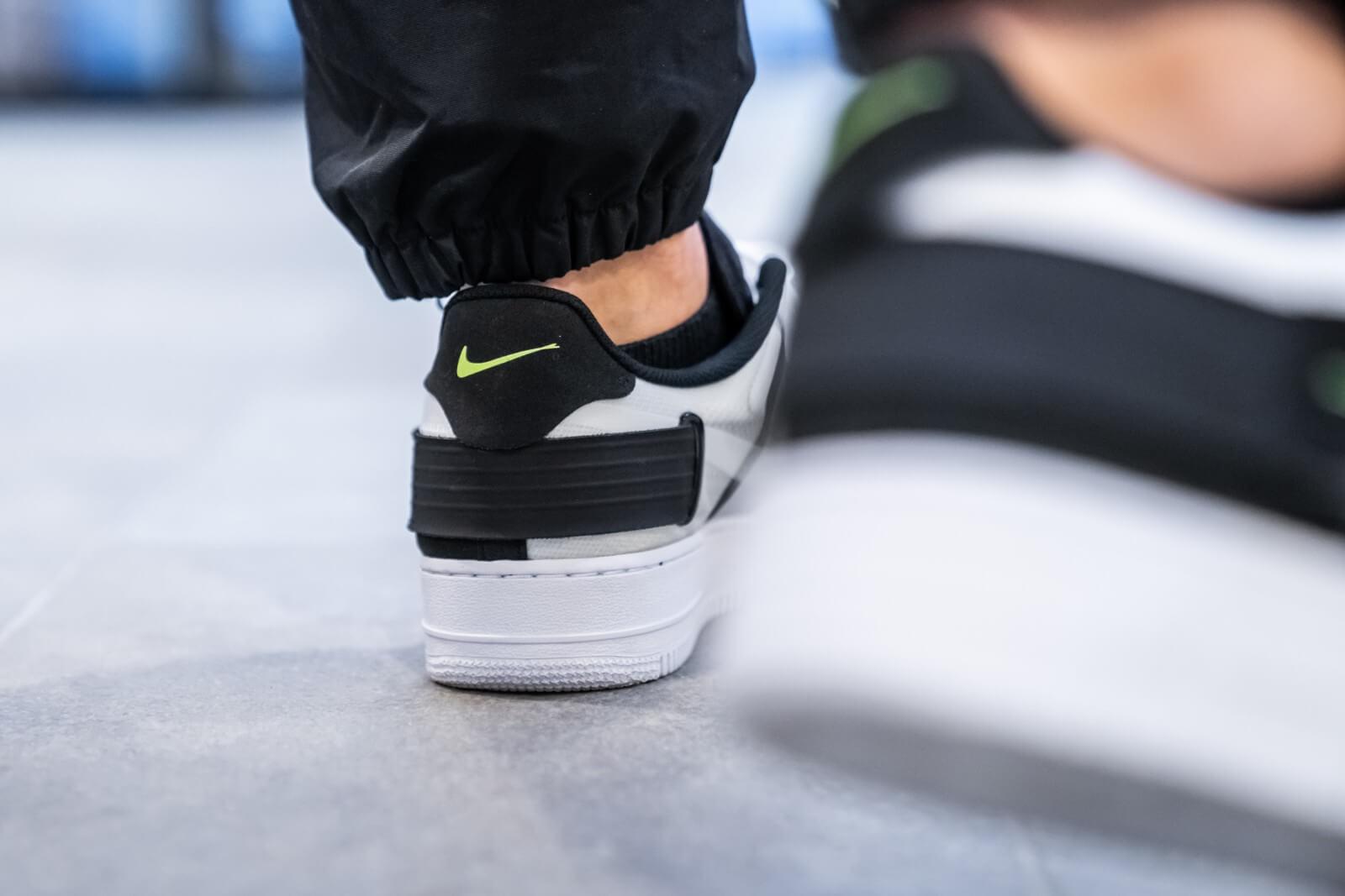 Nike Air Force 1 Type White/Volt-Black
