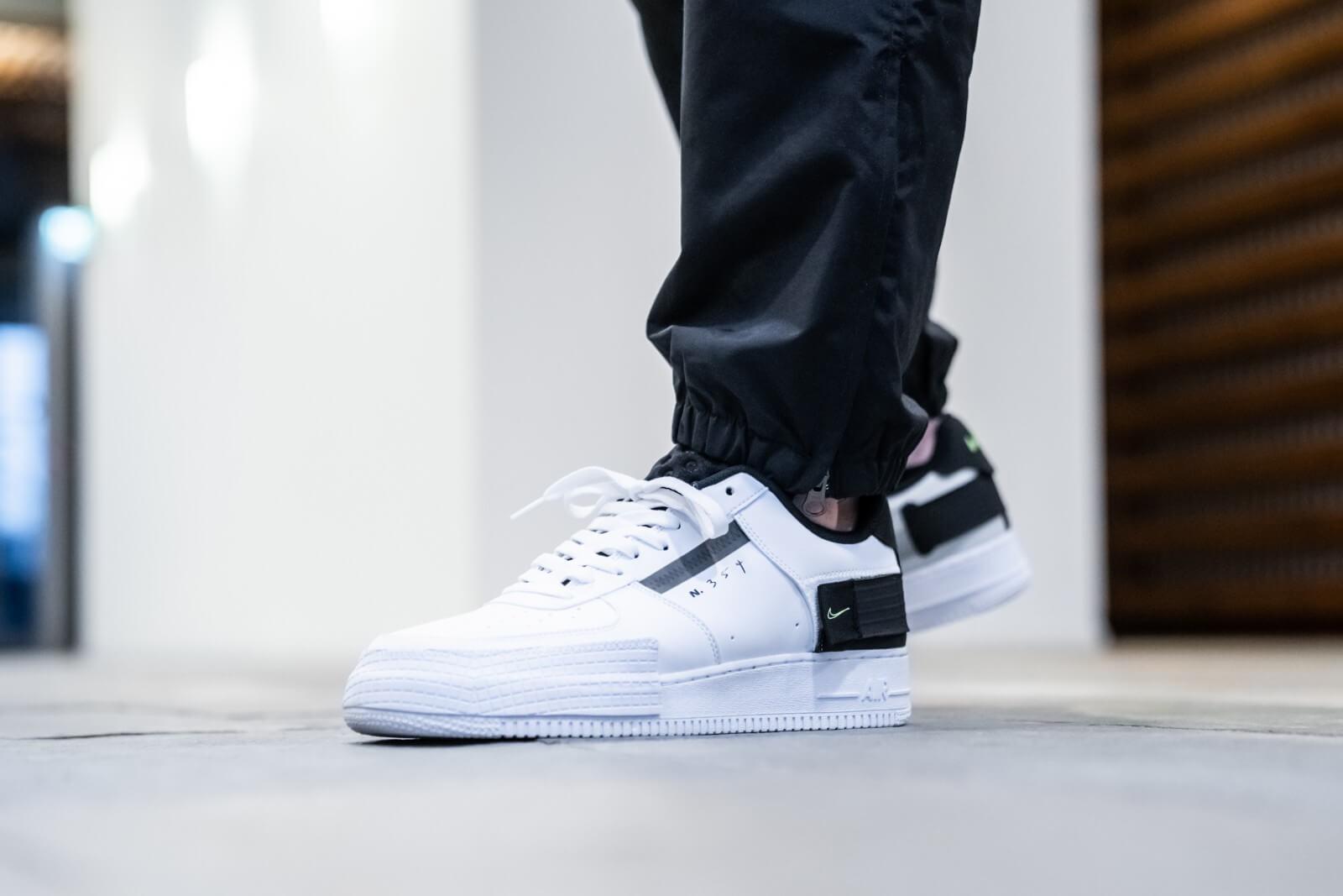 Nike Air Force 1 Type WhiteVolt Black AT7859 101