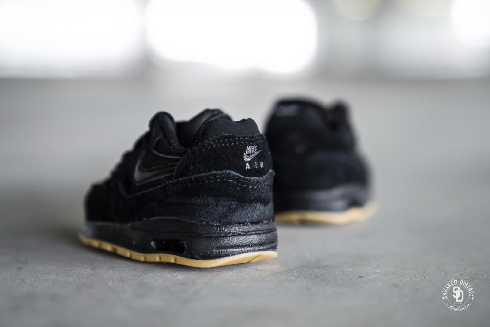 807604 008 Nike Air Max 1 TD BlackBlack Gum