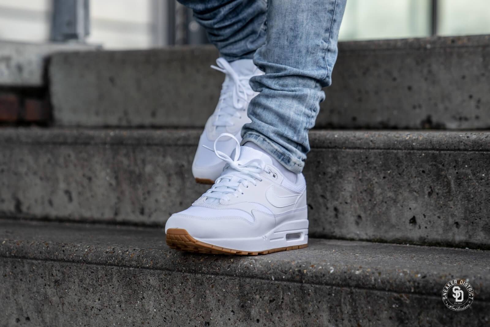 Nike Air Max 1 White/White-Gum - AH8145-109