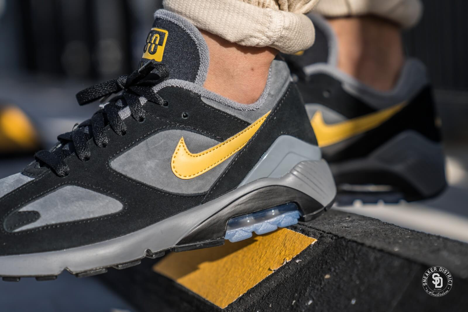 Chaussure Nike Air Max 180 Black And Gold Nike Air Max 180 Wholesale ... aba22f032