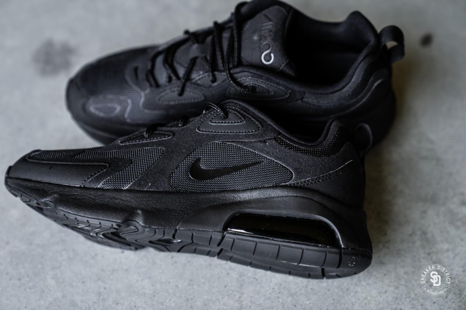 Nike Air Max 200 Black - AQ2568-003
