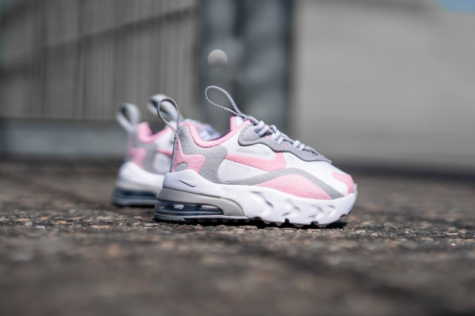 Nike Air Max 270 RT TD White/Pink-Smoke