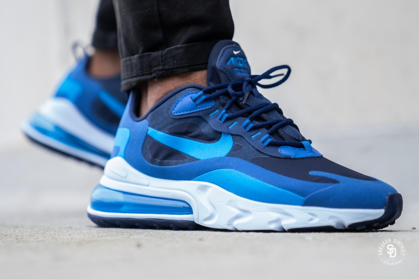 Nike Air Max 270 React Blue Void/Photo