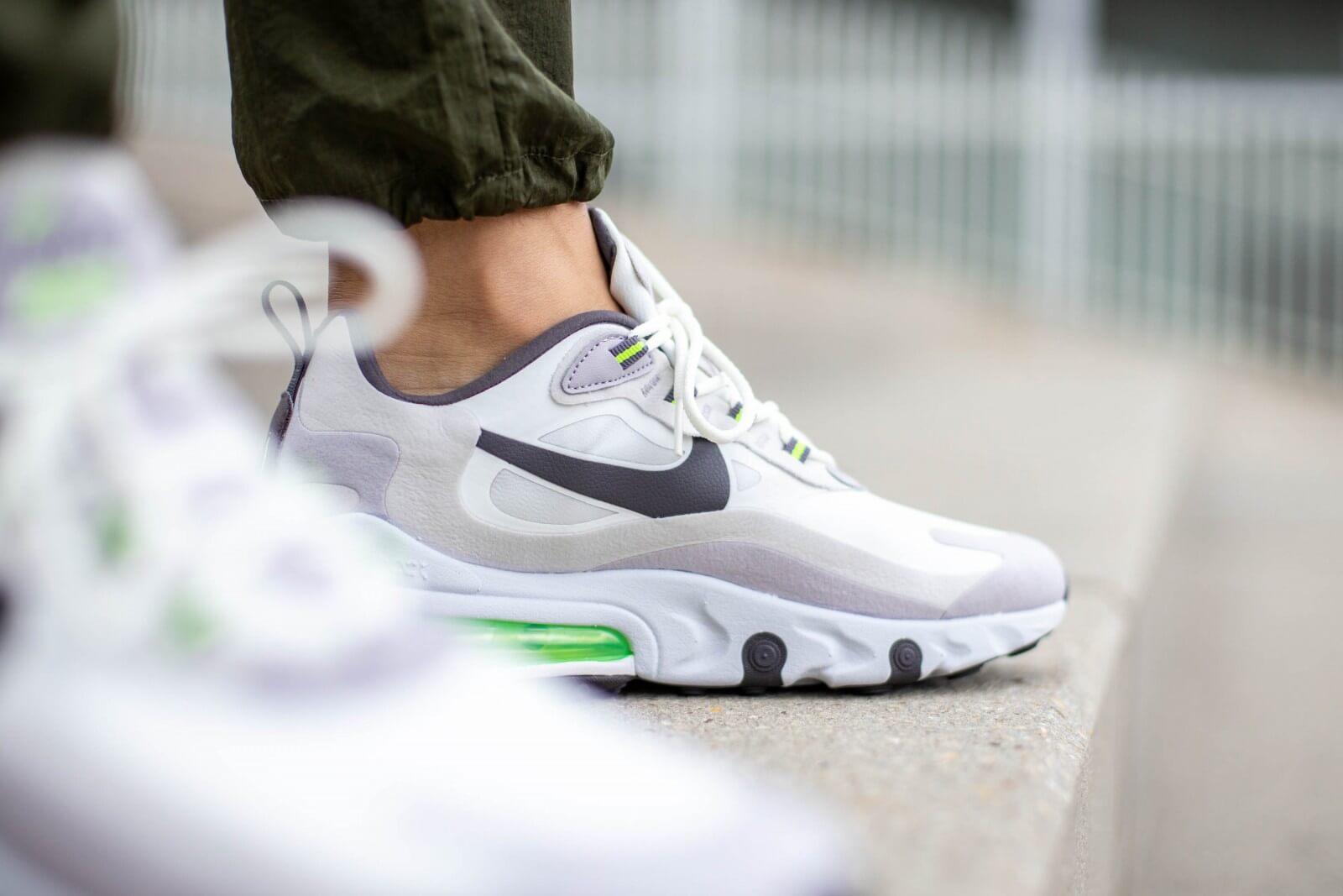 Nike Air Max 270 React Summit White/Electric Green