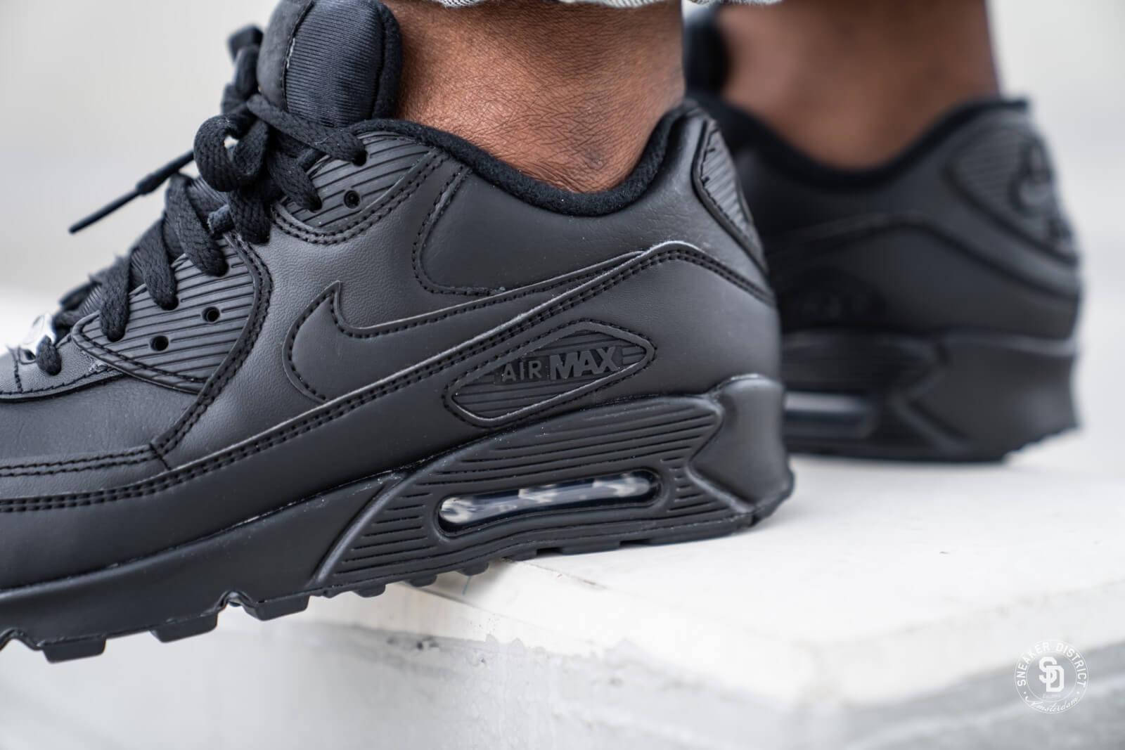 Nike Air Max 90 Leather Black/Black