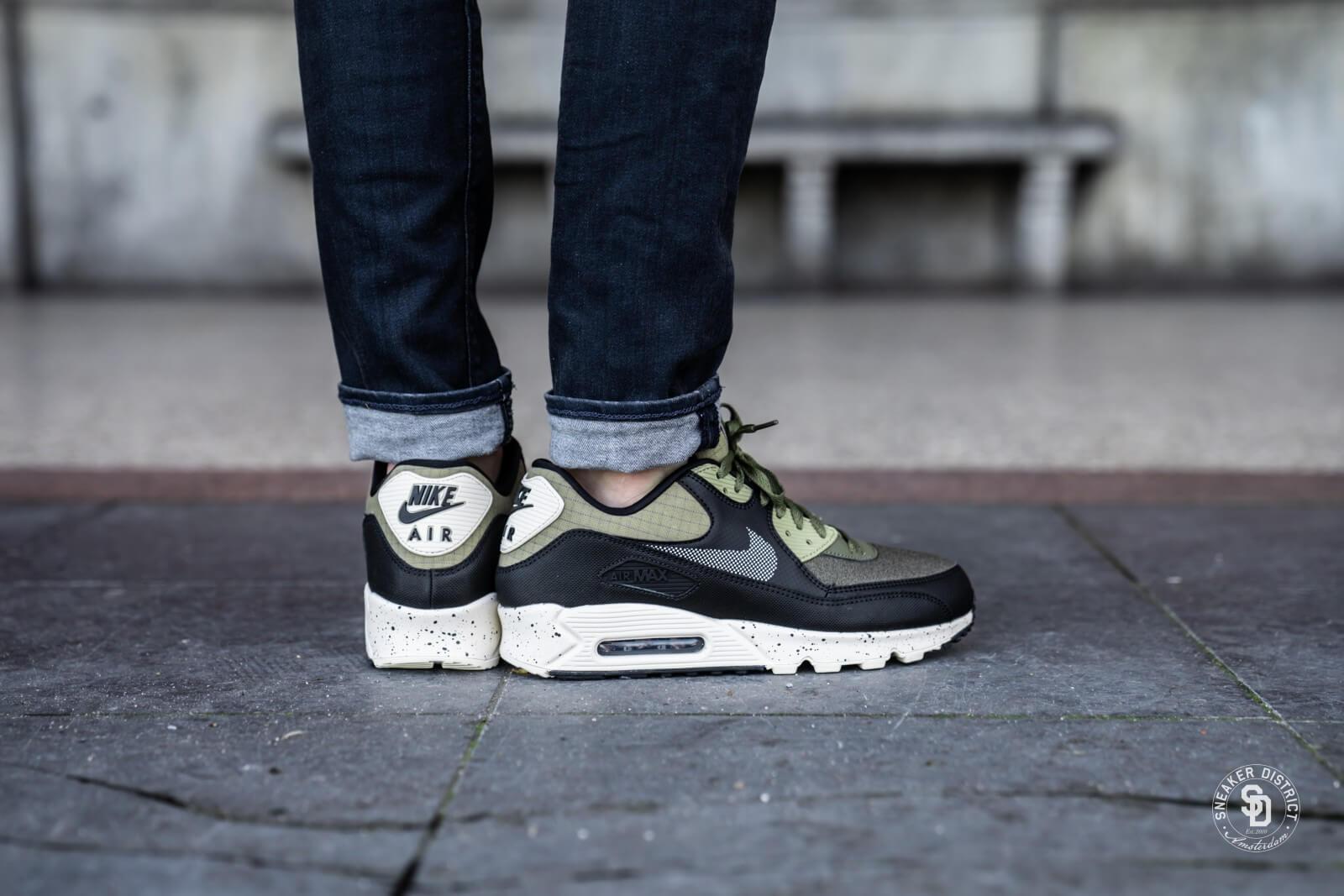 Nike Air Max 90 Premium Neutral Olive/Black
