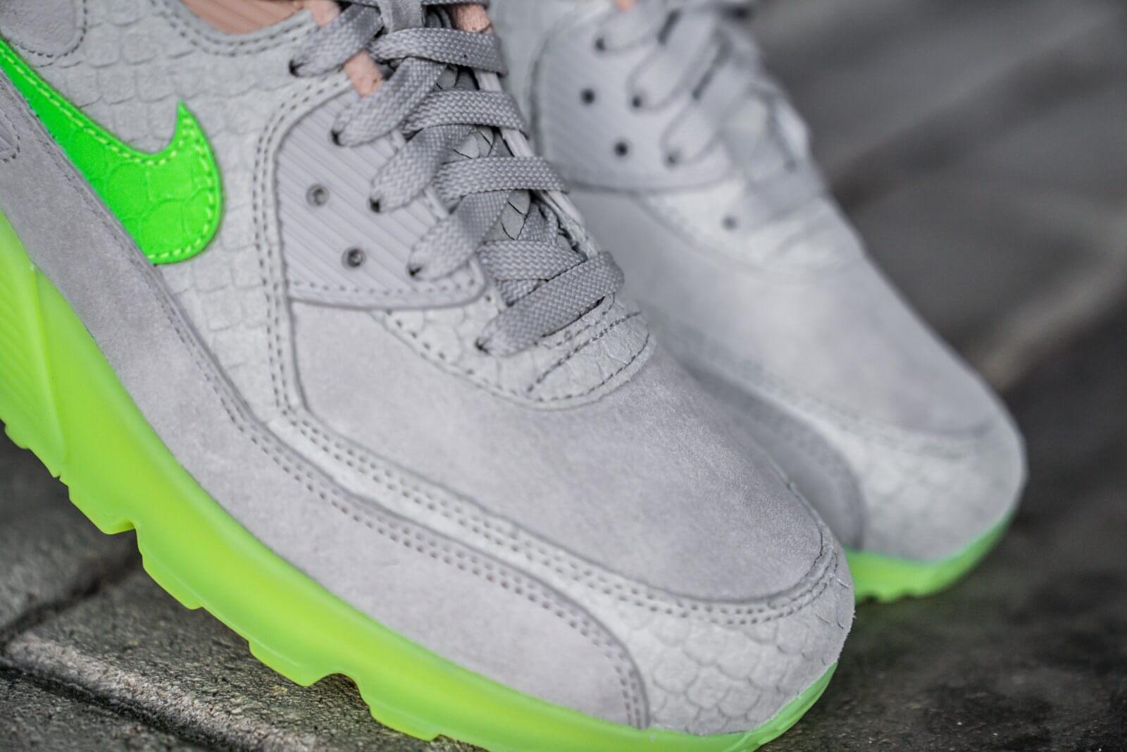 Nike Air Max 90 Premium 'Electric Green' | CQ0786 001