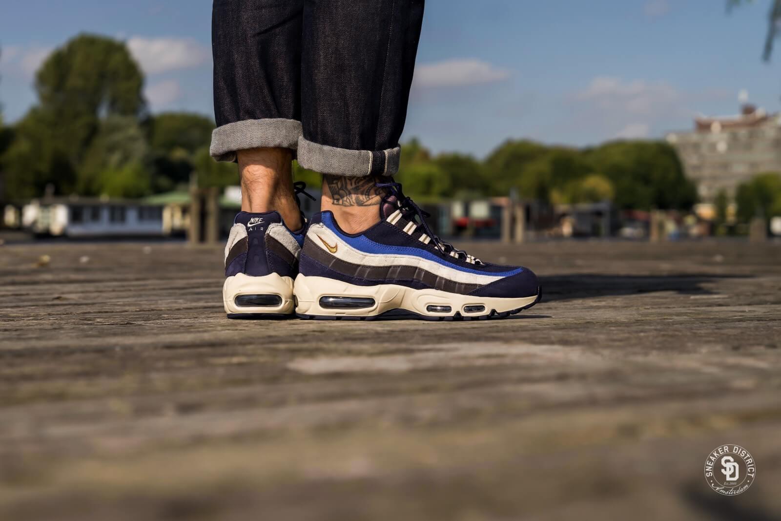 Nike Air Max 95 Premium Blackened Blue