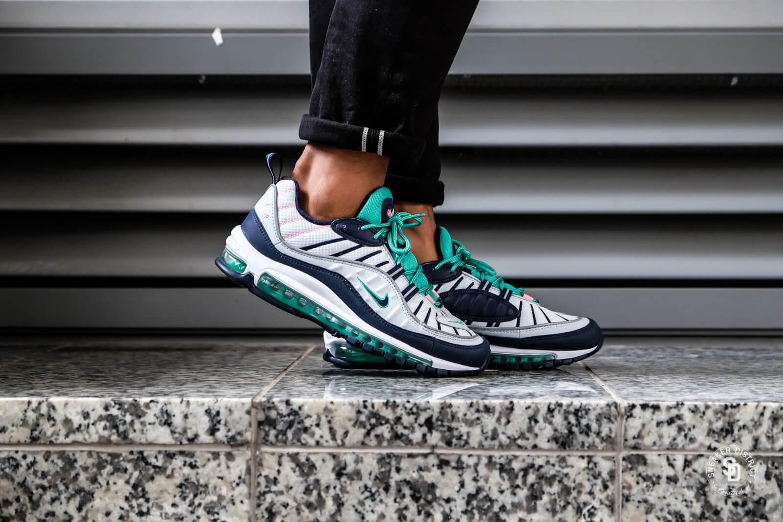 Nike Air Max 98 Pure Platinum/Obsidian