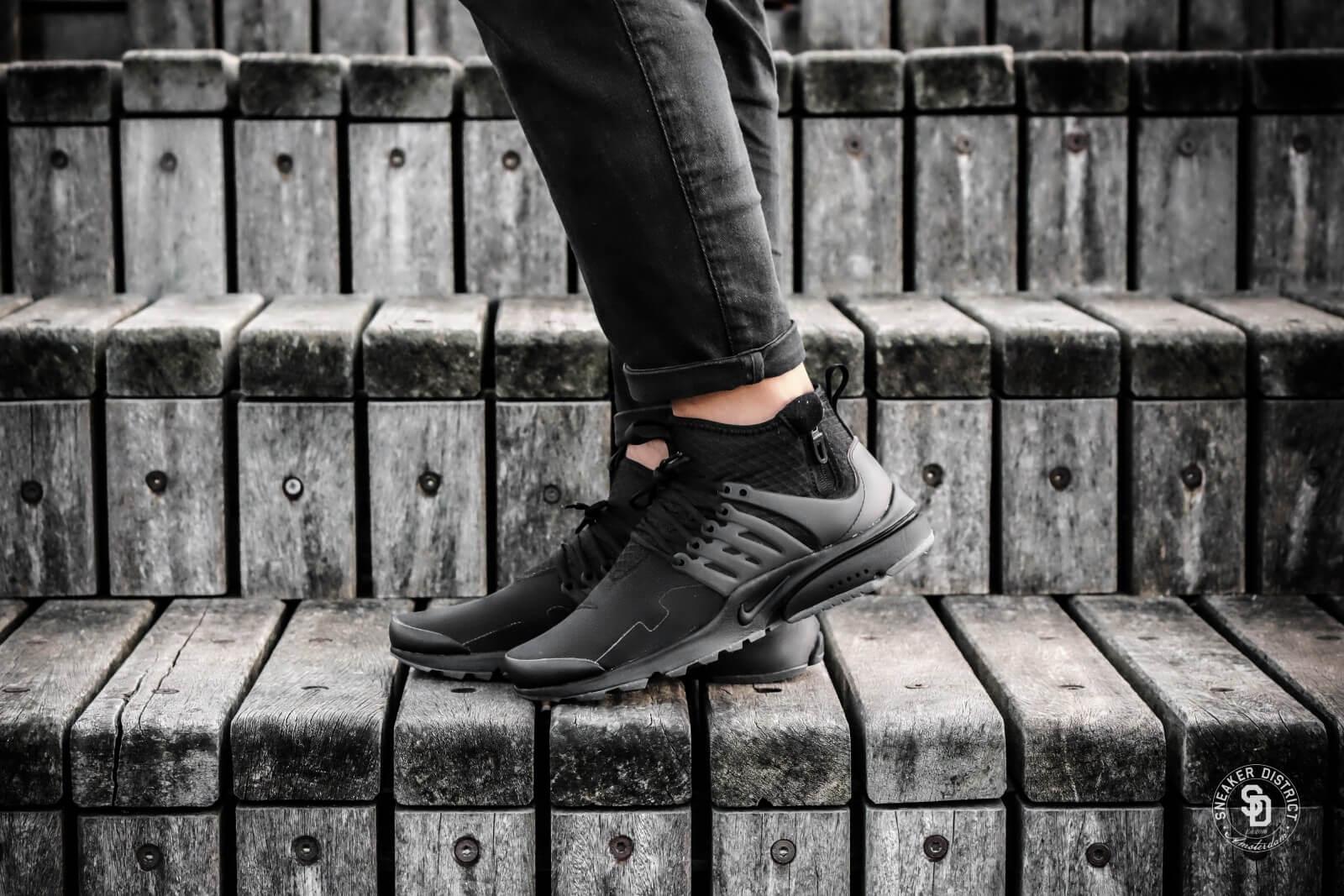 Nike Air Presto Mid Utility Black/Dark Grey