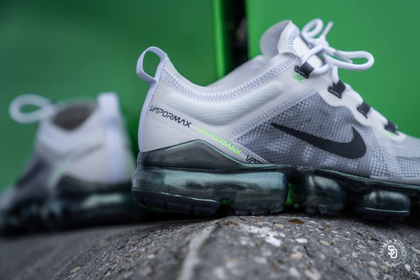Nike Air Vapormax 2019 Premium White Dark Grey Platinum