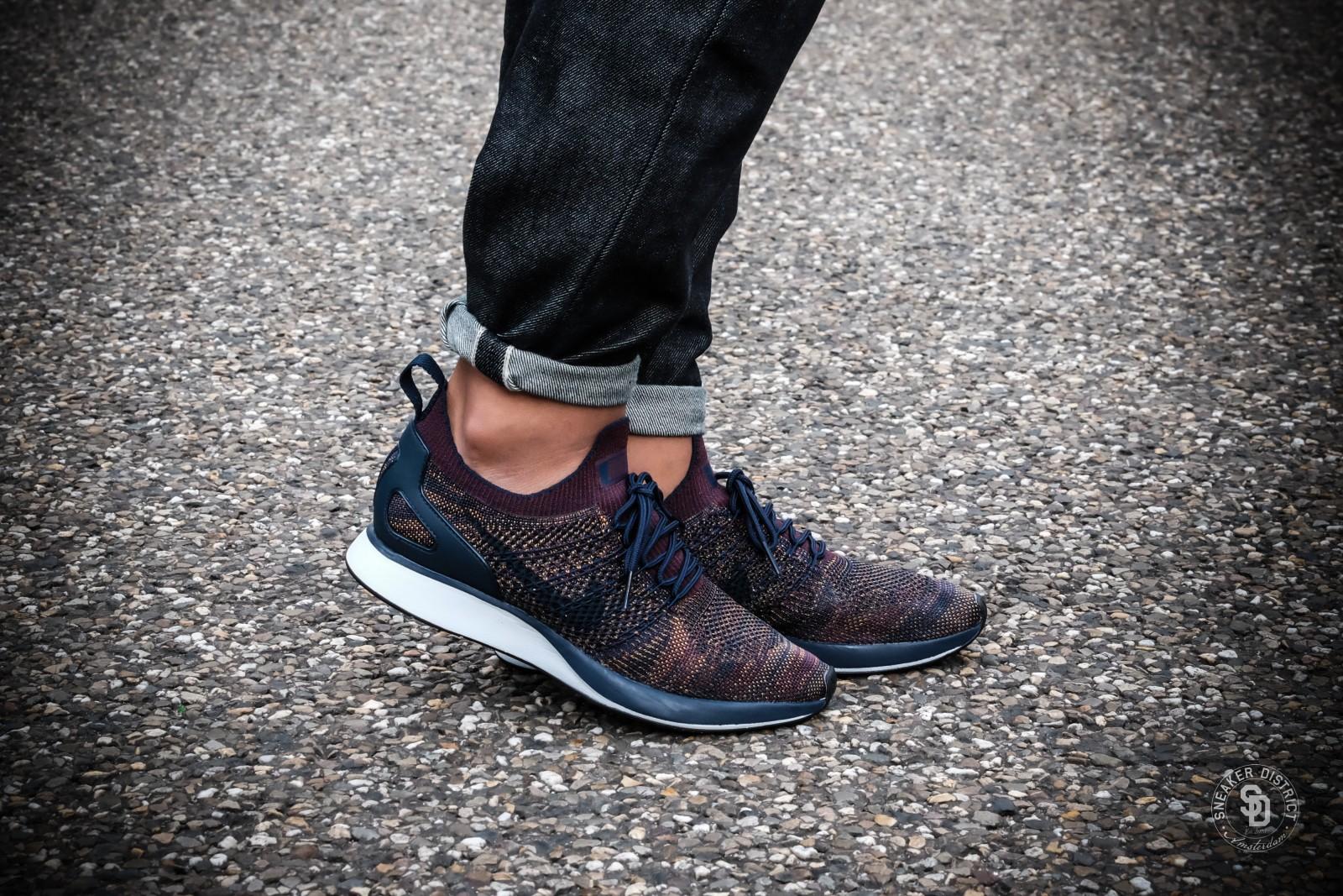 Nike Air Zoom Mariah Flyknit Racer College Navy/Bordeaux-Desert Moss | Koop  online bij Sneaker District en betaal geen verzendkosten