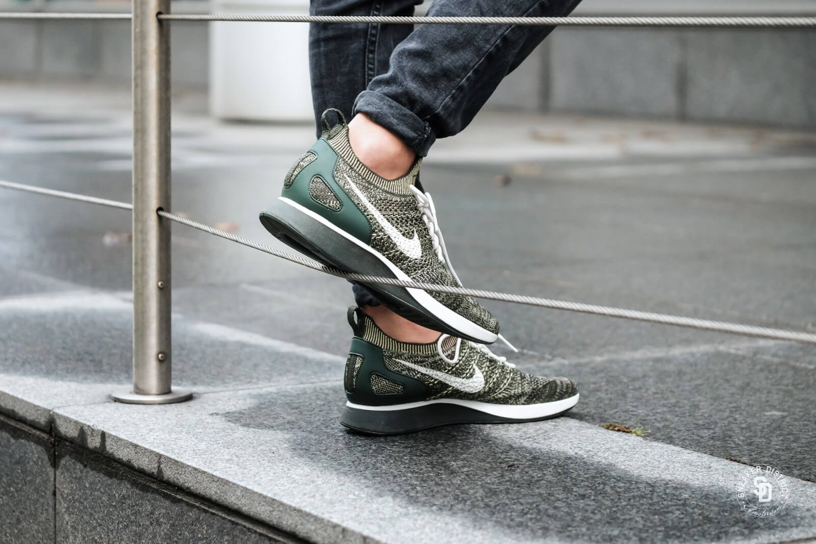 Nike Air Zoom Mariah Flyknit Racer Sequoia/Neutral Olive-Light Bone -  918264-301