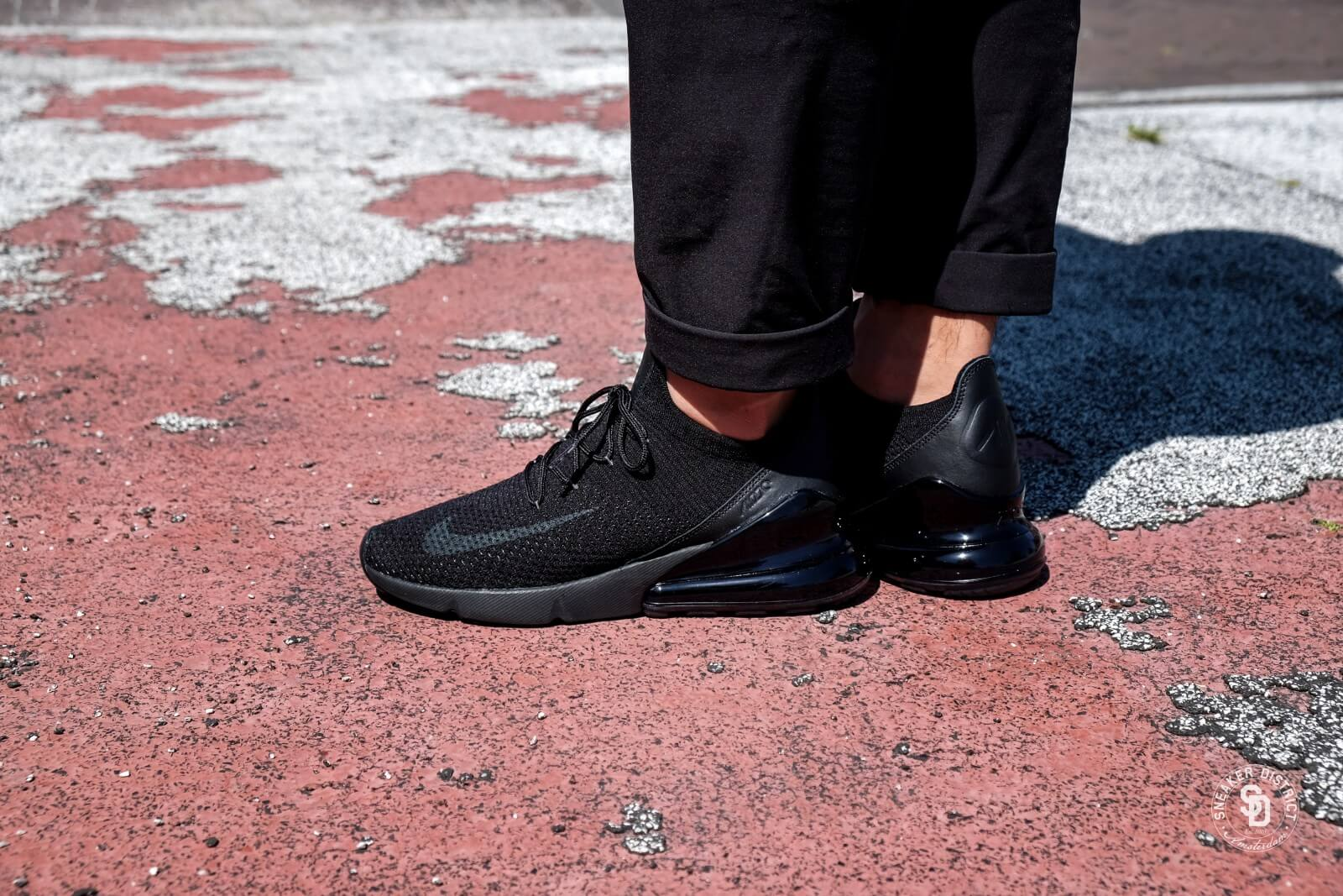 Nike Air Max 270 Flyknit BlackAnthracite AO1023 005
