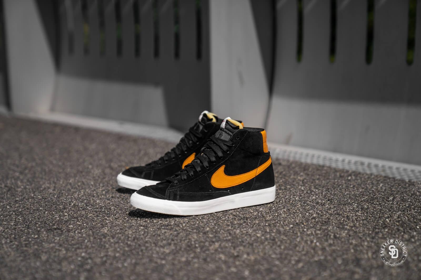 Nike Blazer 77 Black/Amber Rise-Sail
