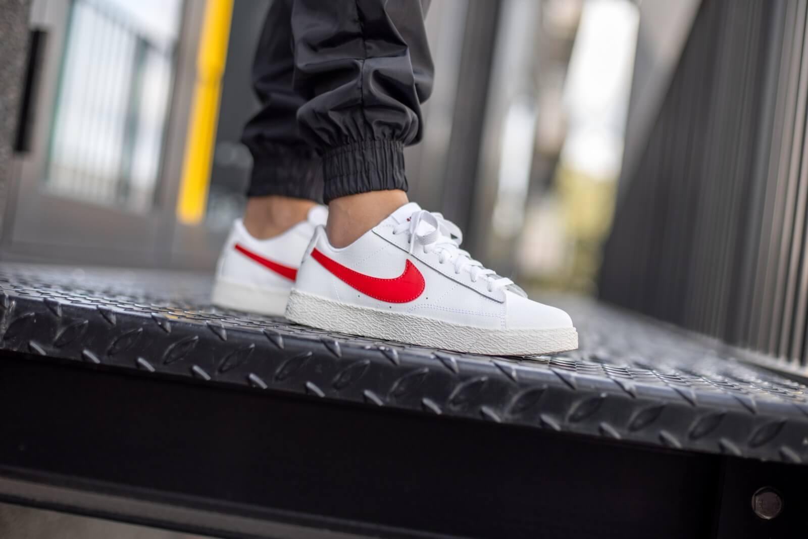 Nike Blazer Low GS White/University Red