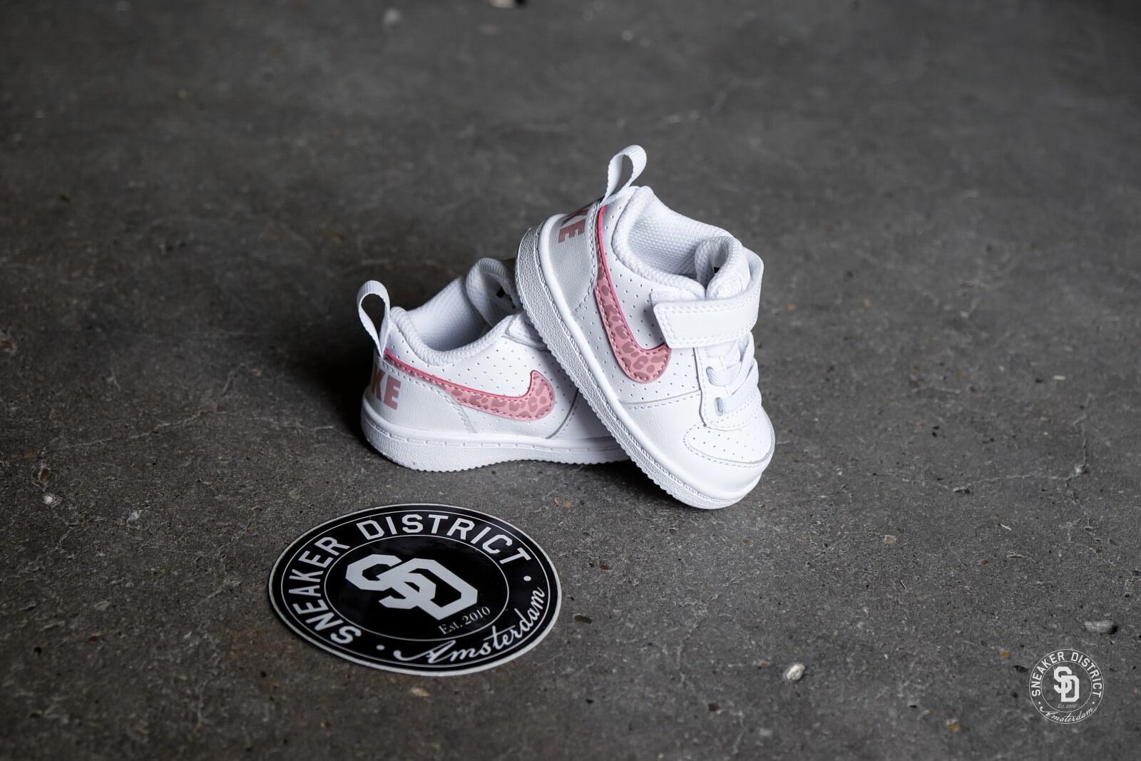Nike Court Borough Low TD White/Rust Pink