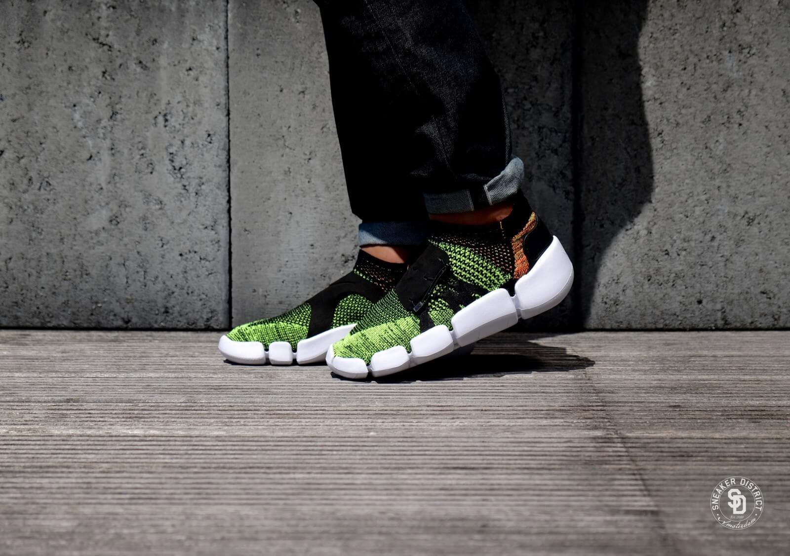 Nike Footscape Flyknit DM Black/Volt