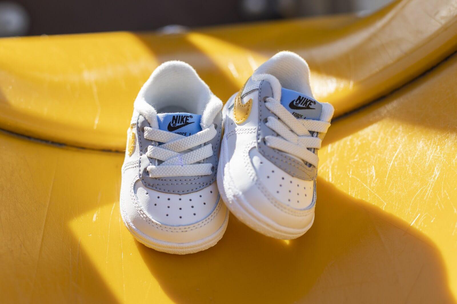 Nike Force 1 Crib CB Summit White/Total