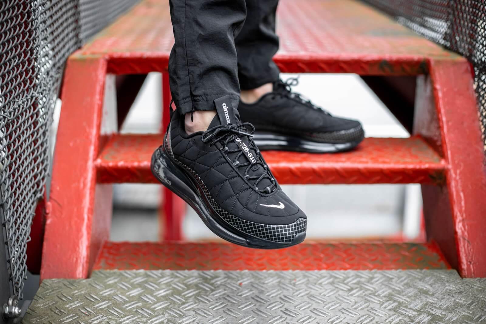 Nike Mx 720 818 Black Metallic Silver Ci3871 001