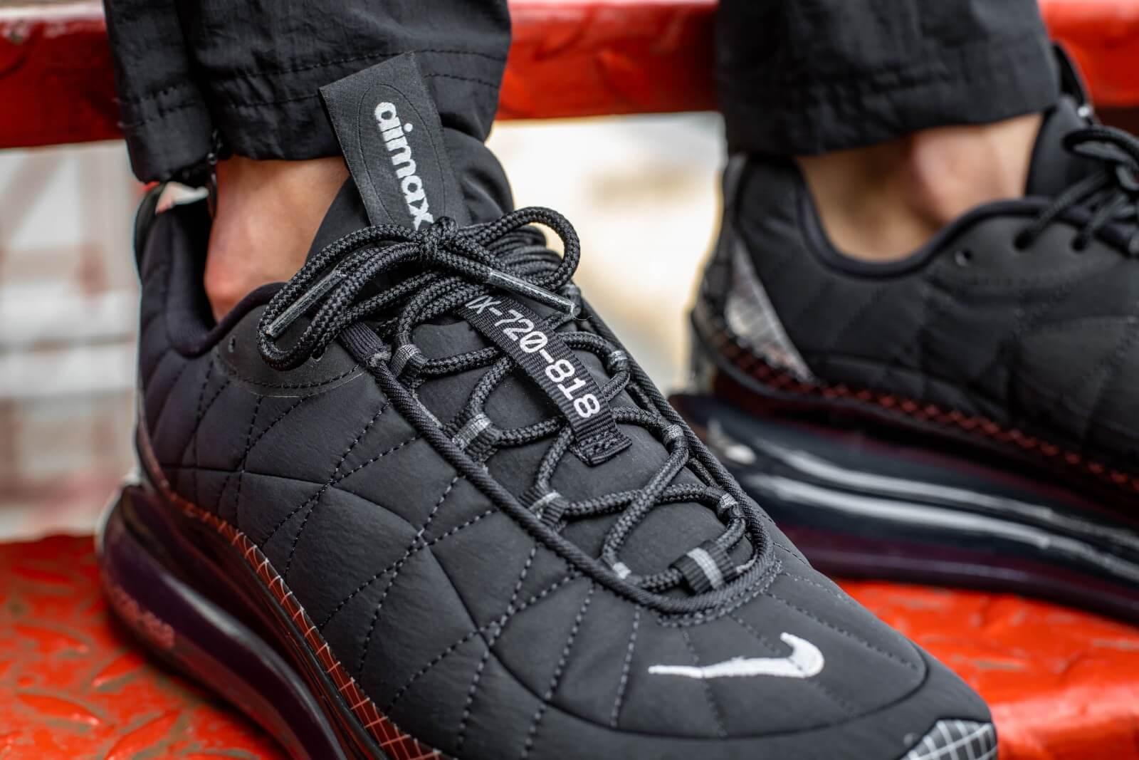 Nike MX-720-818 Black/Metallic-Silver