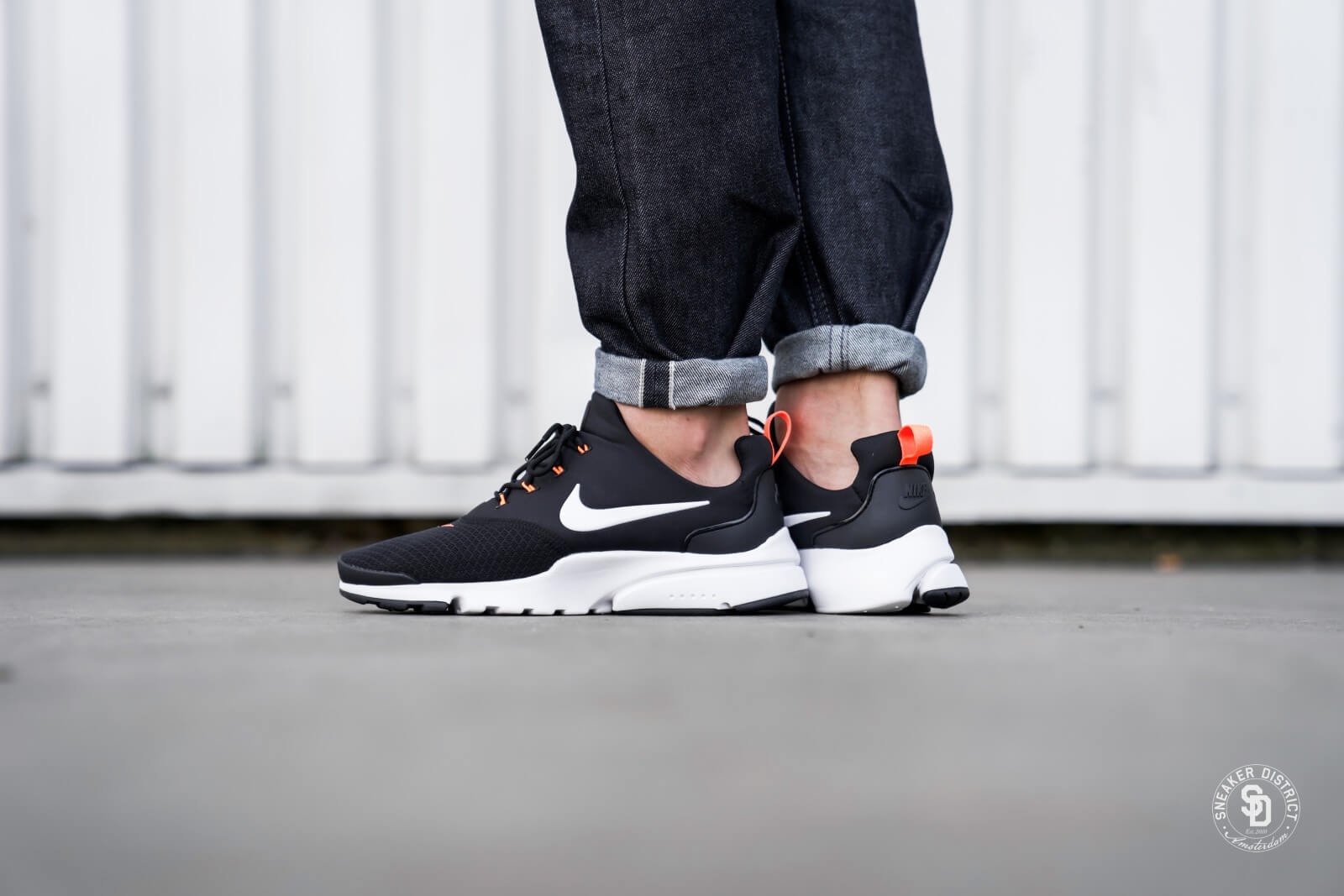 graduado Abastecer Capilares  Nike Presto Fly Just Do It Black/White-Total Orange - AQ9688-001