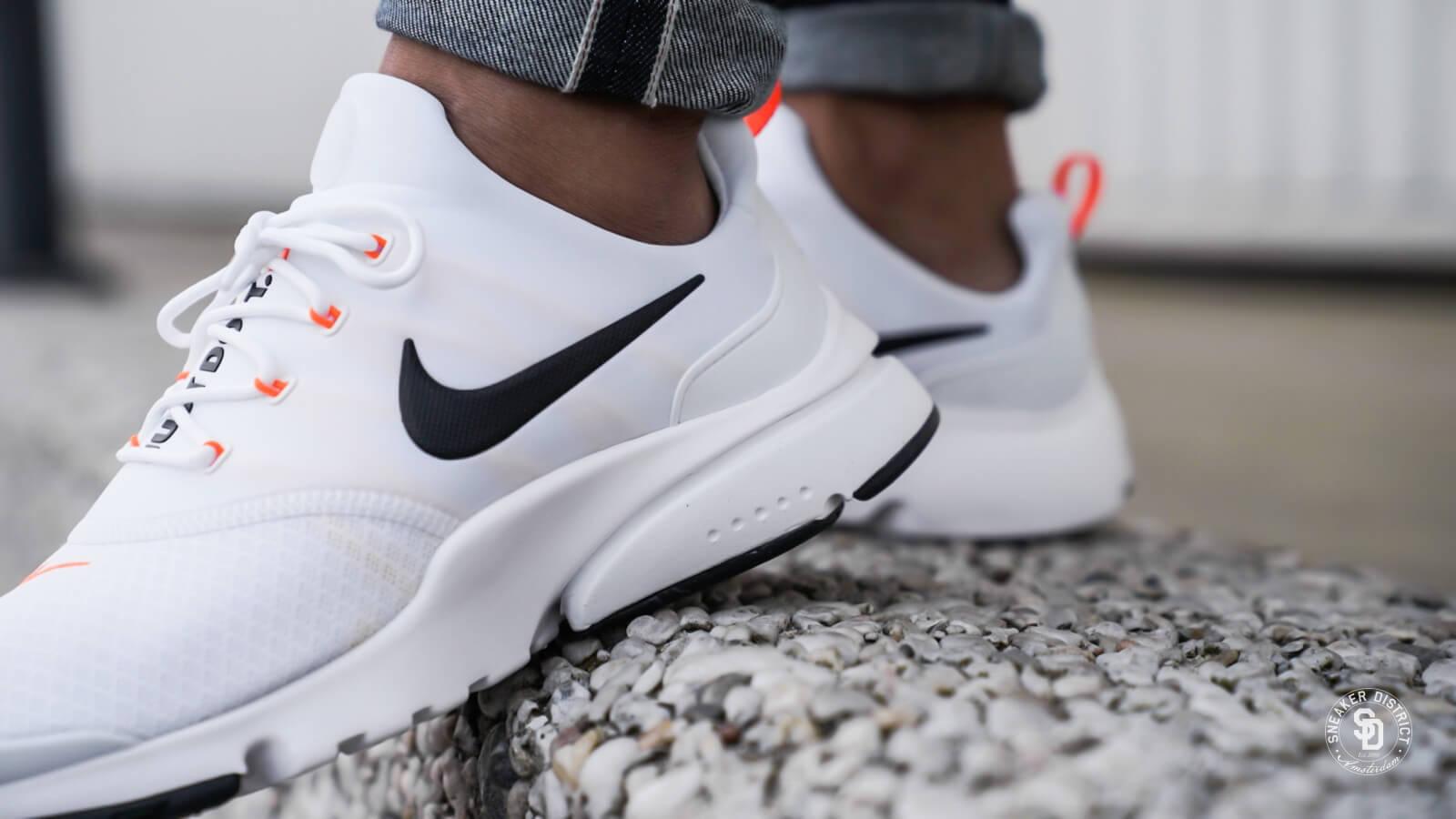 Nike Presto Fly Just Do It White/Black-Total Orange