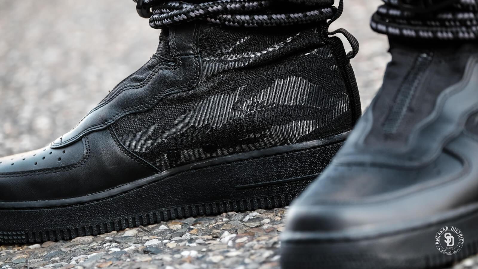 Nike SF Air Force 1 Hi Black/Dark Grey