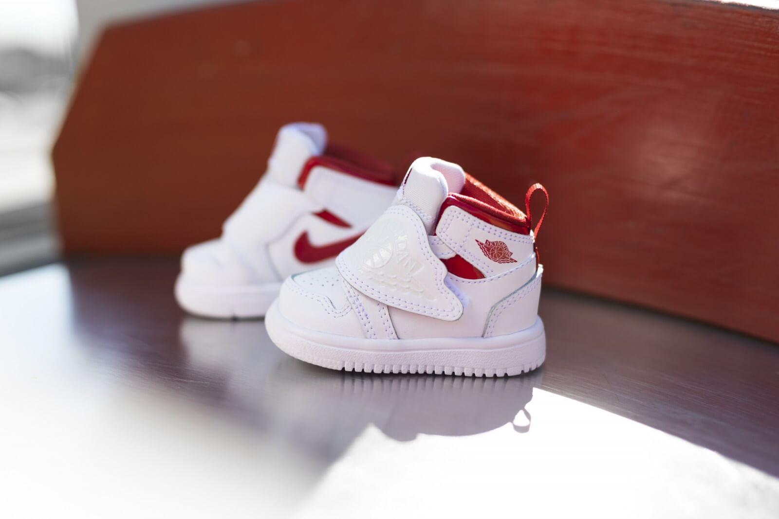 Nike Sky Jordan 1 TD White/University