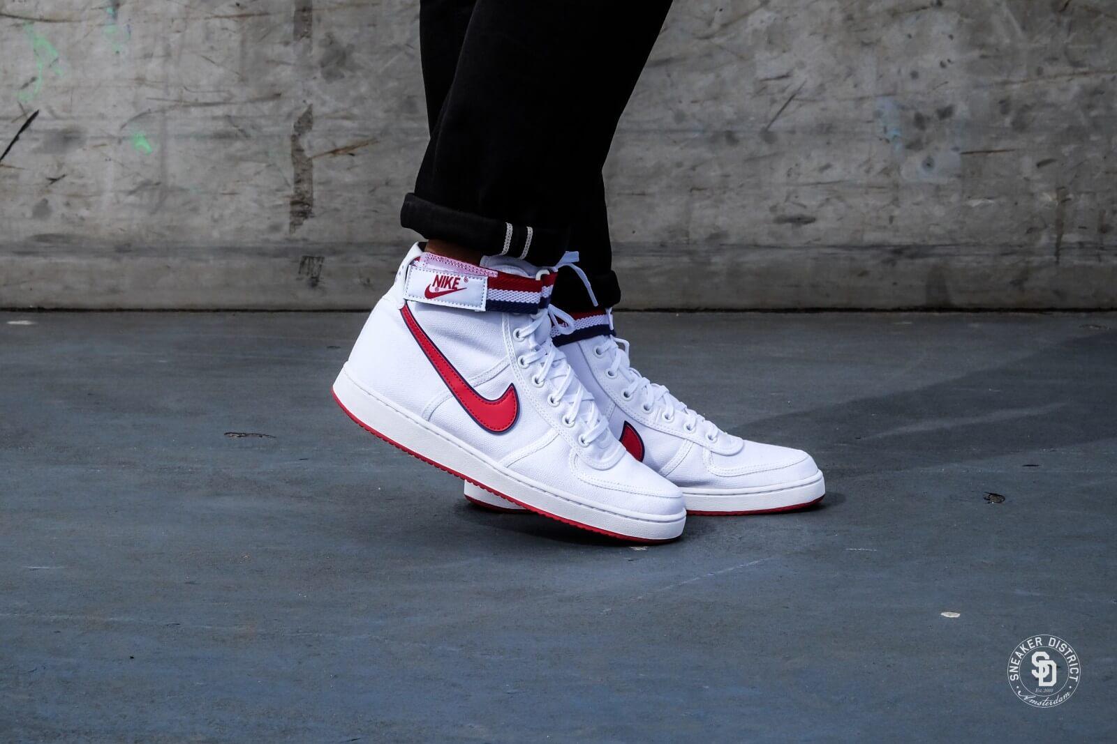 Nike Vandal High Supreme White/Gym Red