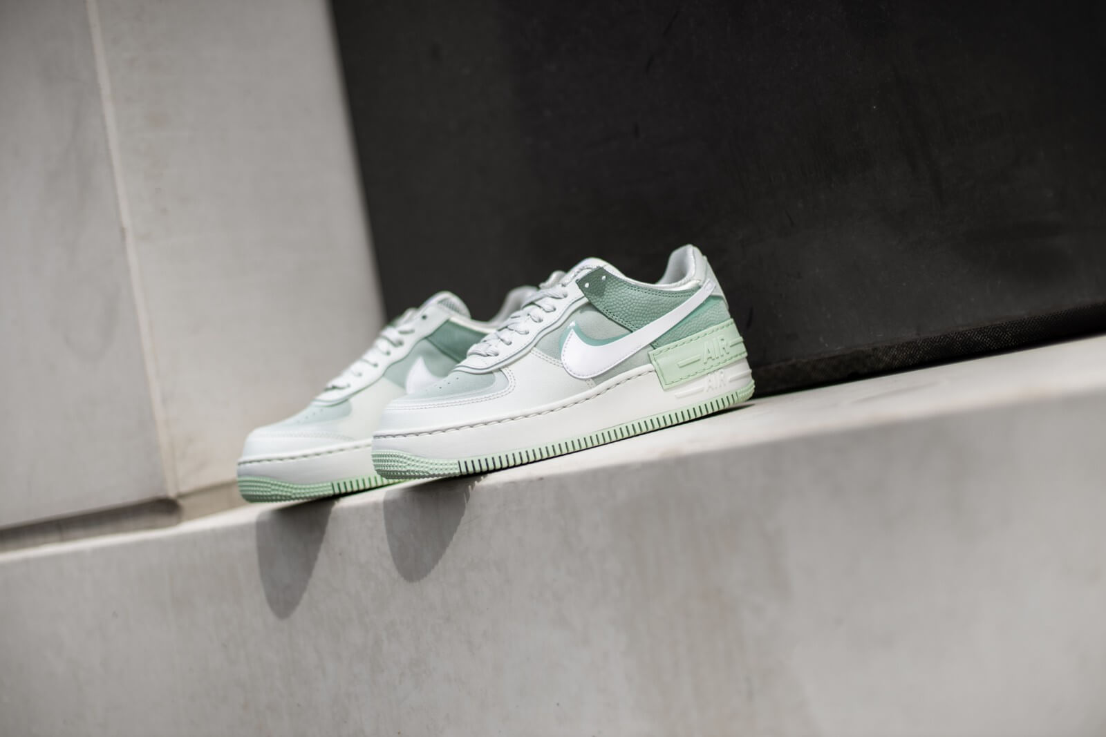 Nike Women S Air Force 1 Shadow Spruce Aura White Pistachio Frost Cw2655 001 Nike dunk high ac mint eu 38 uk 5 us 7 wmns air jordan force 1 max low sb sp. nike women s air force 1 shadow spruce aura white pistachio frost