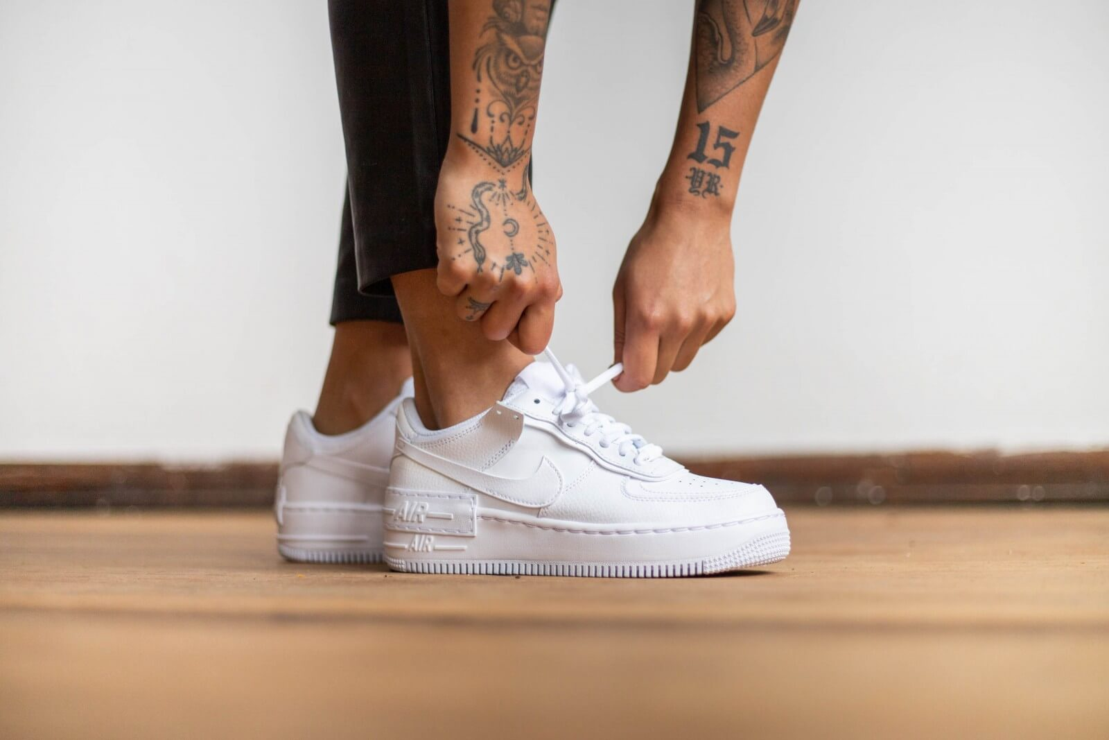 Nike Women's Air Force 1 Shadow White