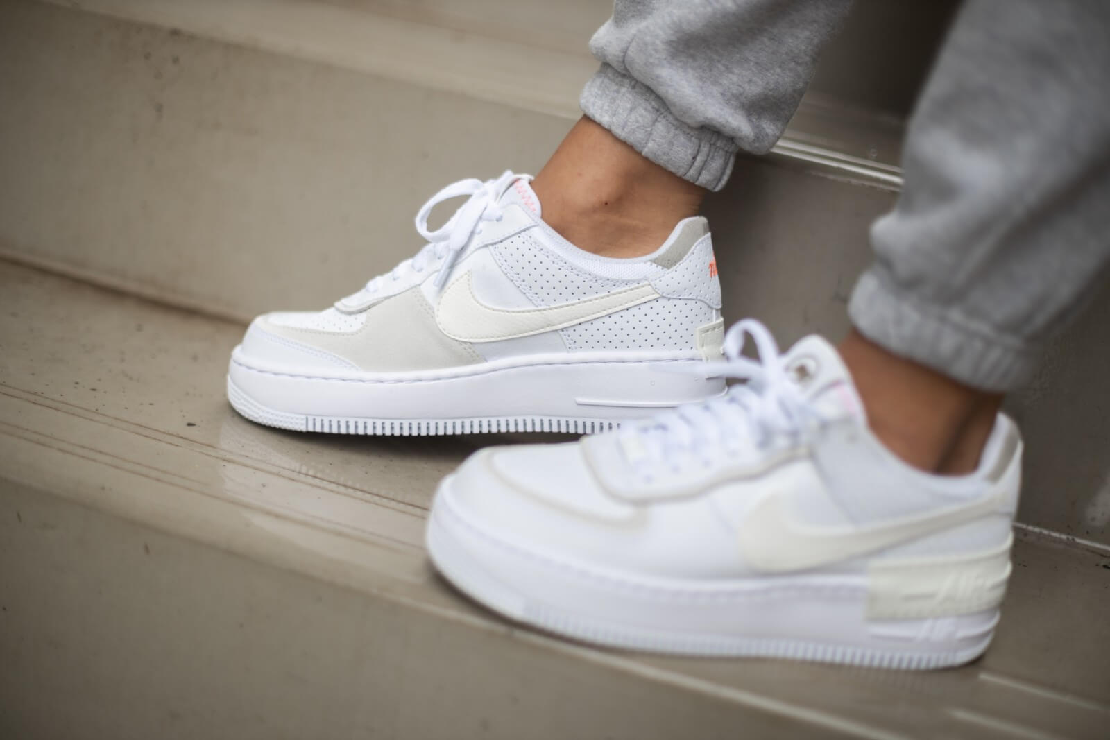 air force 1 shadow white