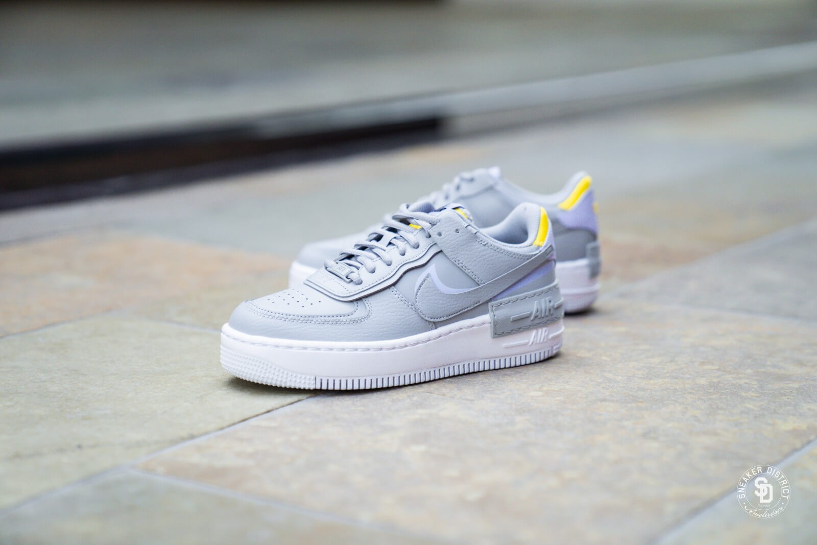 Nike Women S Air Force 1 Shadow Wolf Grey Lavender Mist Ci0919 002 This sneaker reflects this ethos in its design with double the swoosh, double the height and double the force. nike women s air force 1 shadow wolf grey lavender mist