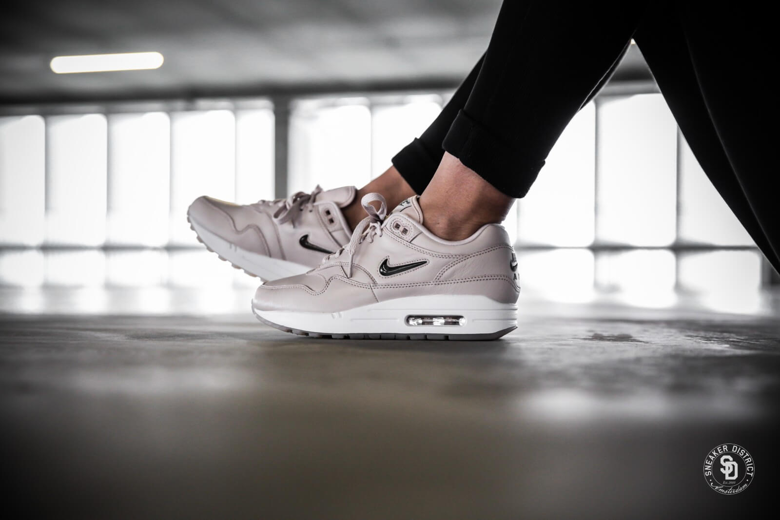 newest 3352b 8517f promo code for nike womens air max 1 premium sc jewel silt red cool grey  white