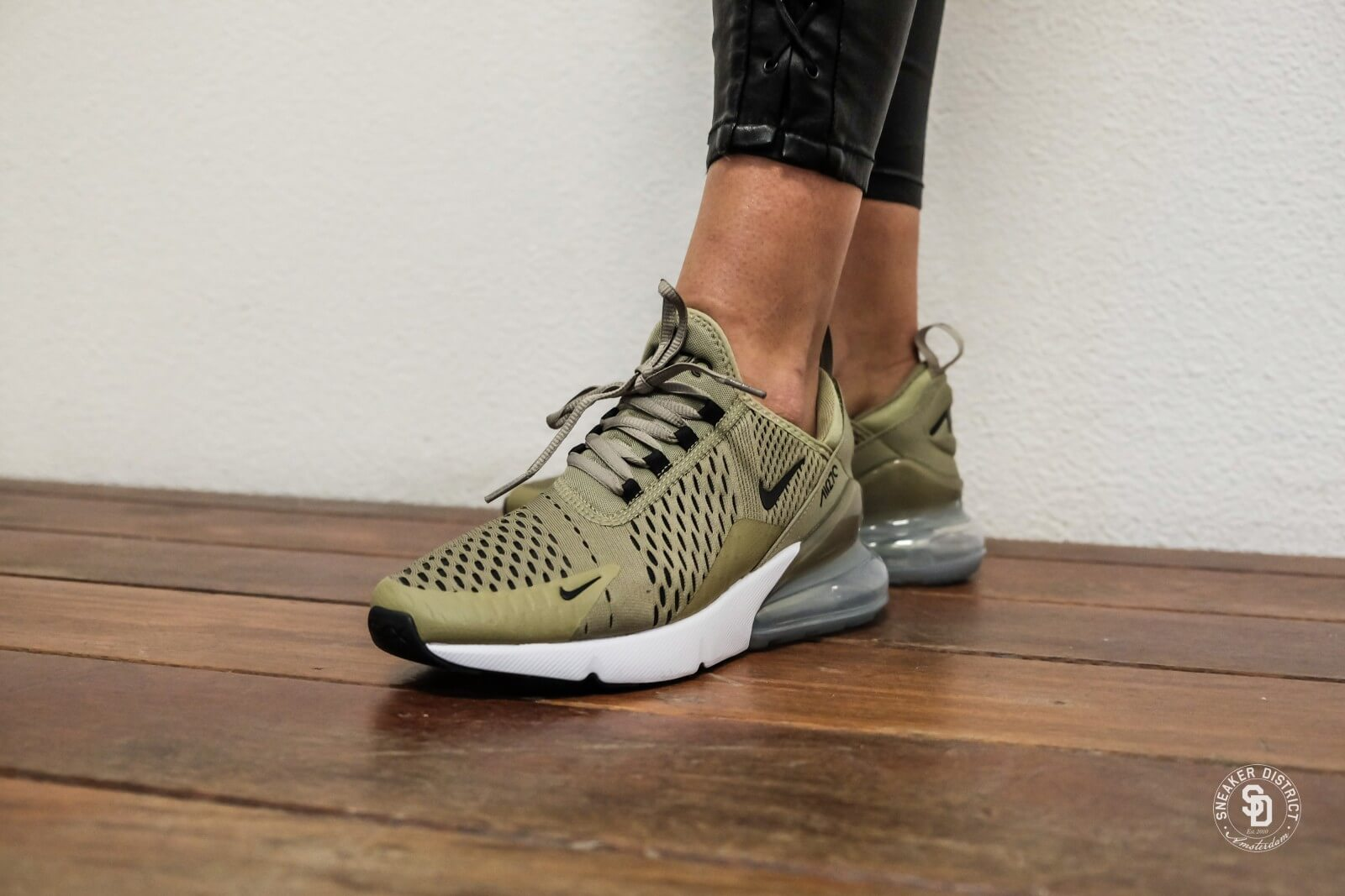 nike women 39 s air max 270 neutral olive black barely volt ah6789 200. Black Bedroom Furniture Sets. Home Design Ideas