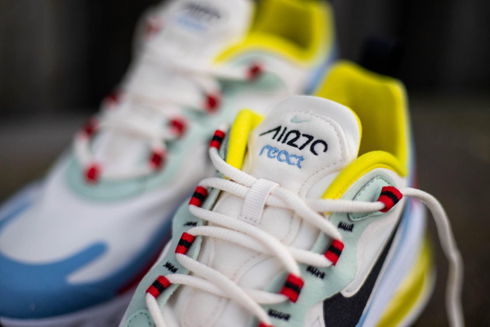 Nike Women's Air Max 270 React Phantom