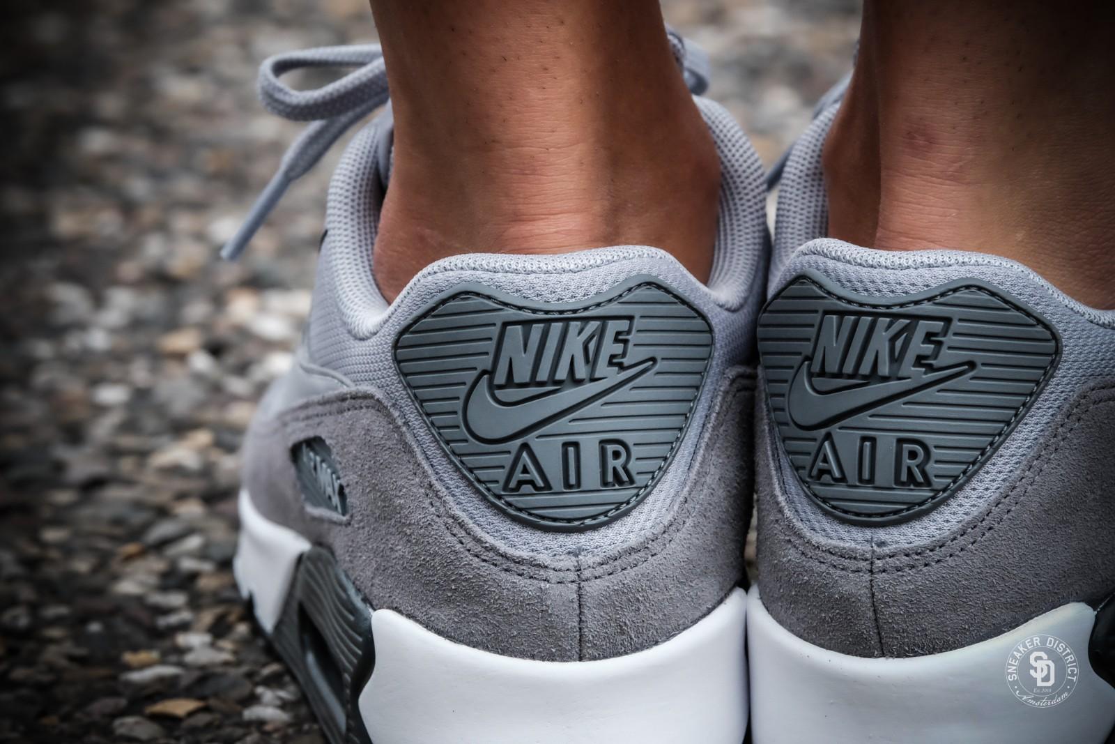 Nike Women's Air Max 90 Cool GreyAnthracite White | Dames