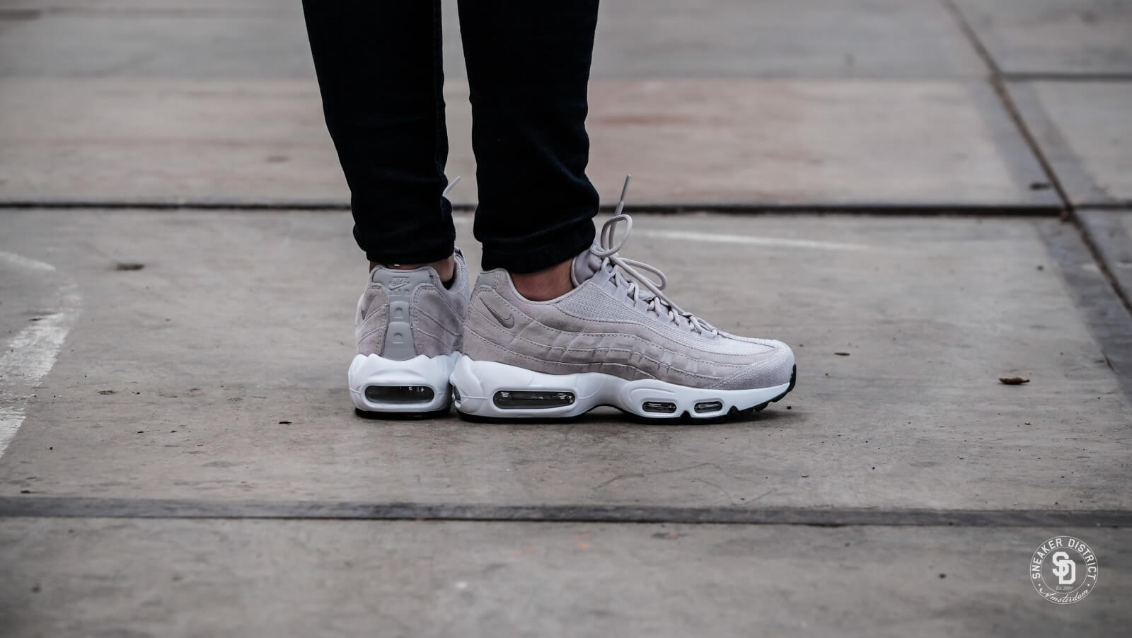 quality design 9cd4f 43507 ... Nike Womens Air Max 95 Premium Moon ParticleWhite outlet on sale c1503  48618 ...
